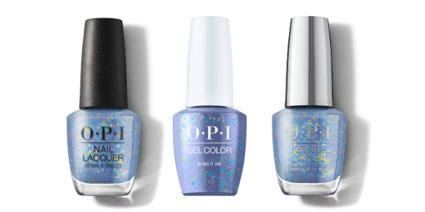 OPI Nail Lacquer, GelColor & Infinite Shine - Bling It On!