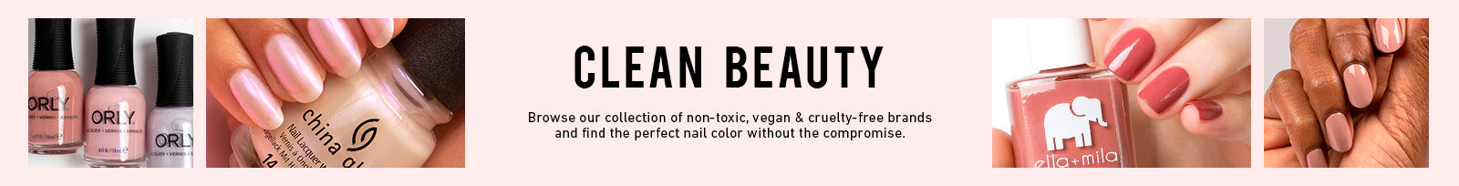 Non-toxic, Vegan & Cruelty-Free Products