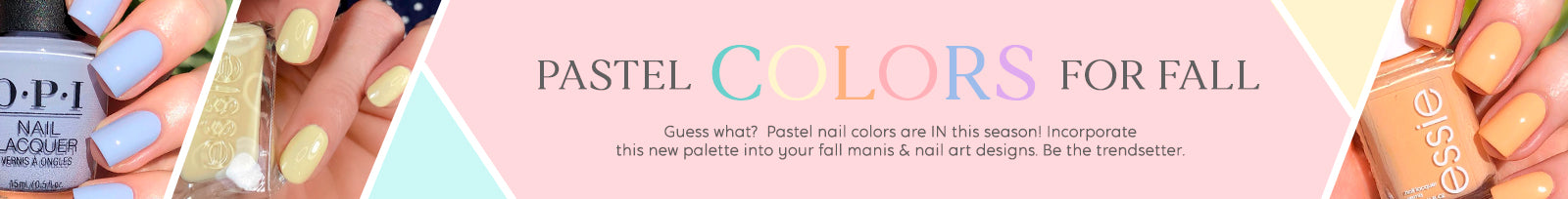 Pastel Nail Colors For Fall