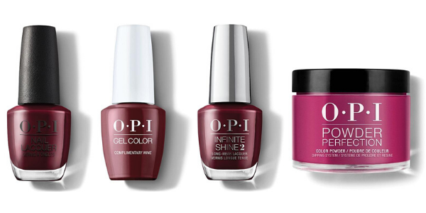 OPI Nail Lacquer, GelColor, Infinite Shine & Powder Perfection - Complimentary Wine