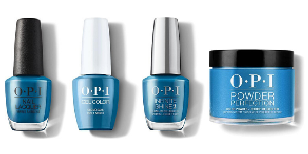 OPI Duomo Days, Isola Nights - Nail Lacquer, GelColor, Infinite Shine & Powder Perfection