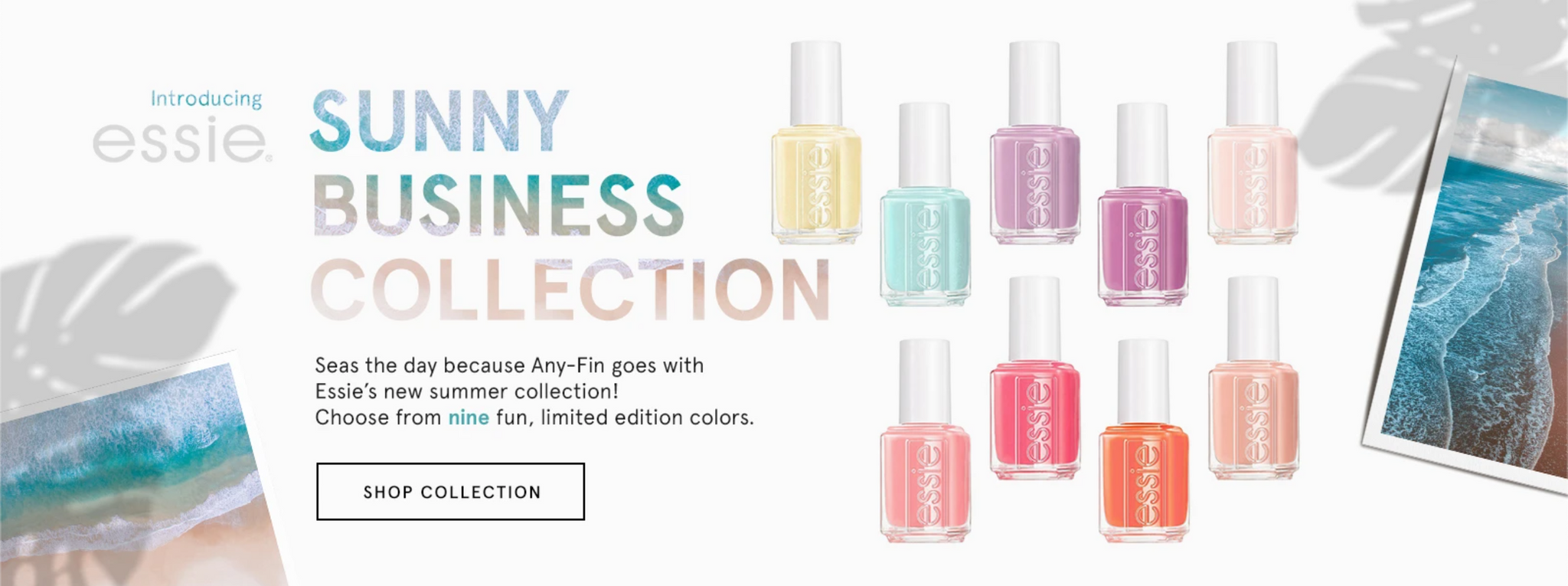 Essie Sunny Business Summer 2020 Collection
