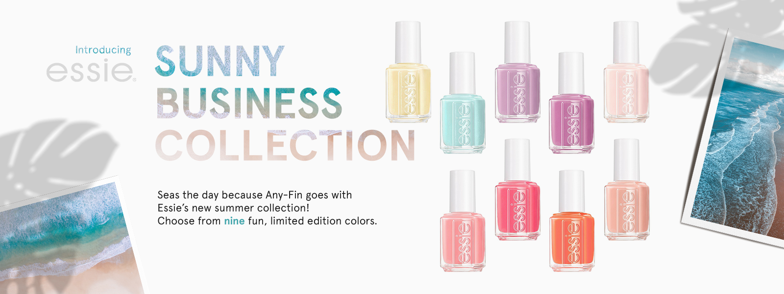 Essie Sunny Business Collection | Summer 2020 Nail Colors