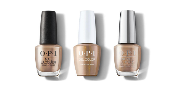OPI Fall-ing For Milan - Nail Lacquer, GelColor & Infinite Shine