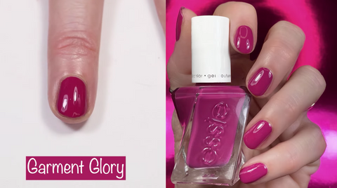 Essie Gel Couture Garment Glory - swatch by @livwithbiv