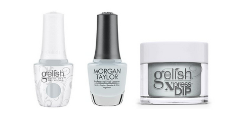 Gelish, Morgan Taylor & Gelish Xpress In The Clouds - Out In The Open Collection | Beyond Polish