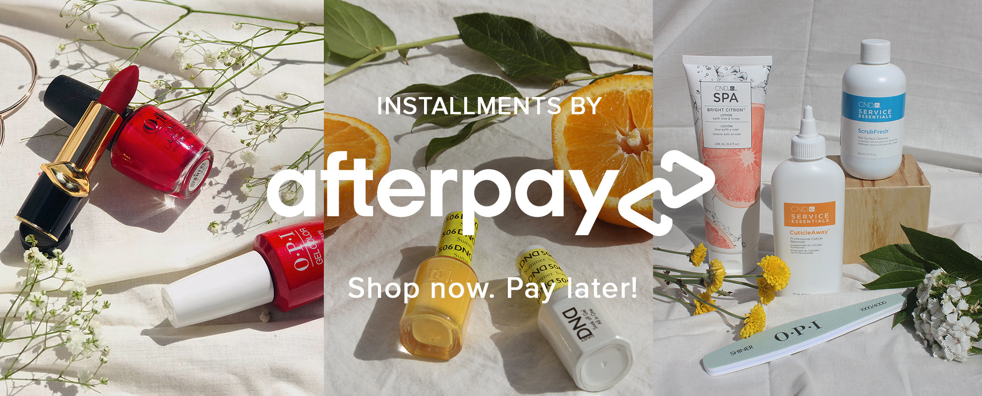 Shop Now, Pay Later with Afterpay