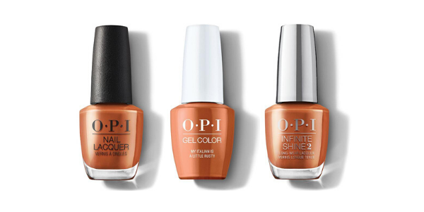 OPI My Italian is a Little Rusty - Nail Lacquer, GelColor & Infinite Shine