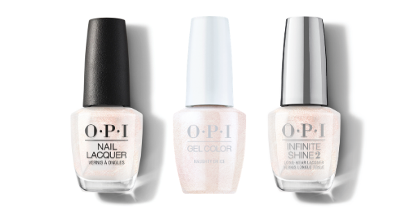 OPI Nail Lacquer, GelColor & Infinite Shine - Naughty Or Ice