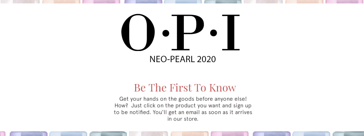 OPI Neo-Pearl 2020 Collection
