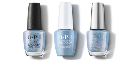 OPI Nail Lacquer, GelColor & Infinite Shine - Angels Flight to Starry Nights