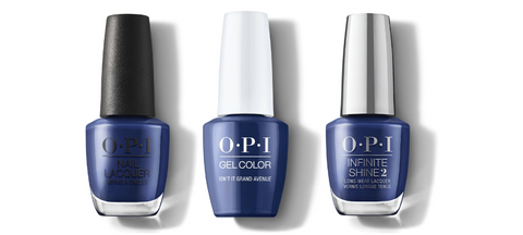 OPI Nail Lacquer, GelColor & Infinite Shine - Isn't It Grand Avenue?
