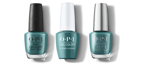 OPI Nail Lacquer, GelColor & Infinite Shine - My Studio's On Spring