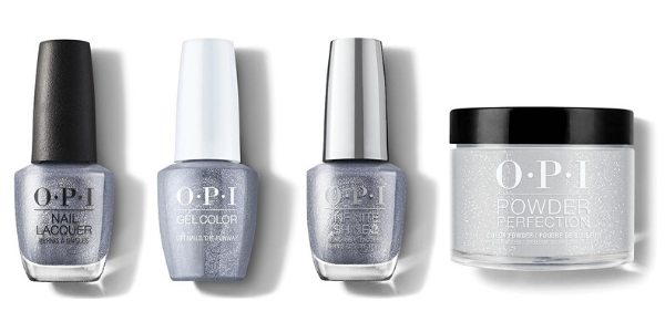 OPI Nails The Runway - Nail Lacquer, GelColor, Infinite Shine & Powder Perfection