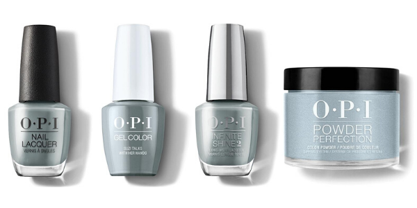 OPI Suzi Talks With Her Hands - Nail Lacquer, GelColor, Infinite Shine & Powder Perfection
