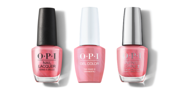 OPI Nail Lacquer, GelColor & Infinite Shine - This Shade is Ornamental