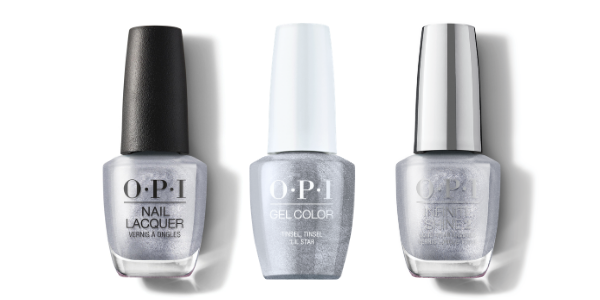 OPI Nail Lacquer, GelColor & Infinite Shine - Tinsel Tinsel 'Lil Star