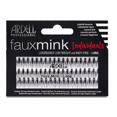 Ardell - Faux Mink Individuals Knot Free - Long Black-Beyond Polish
