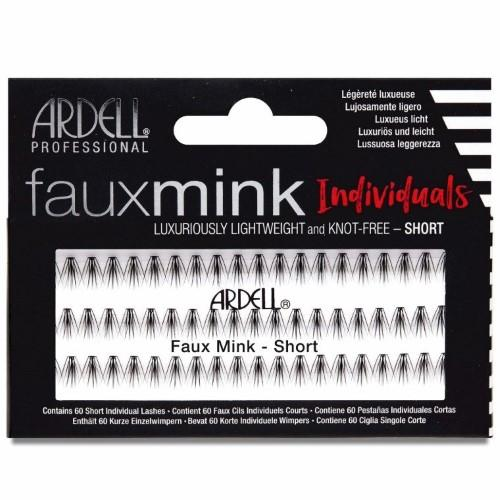 Ardell - Faux Mink Individuals Knot Free - Short Black-Beyond Polish