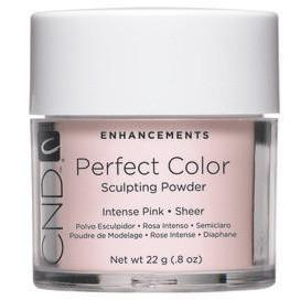 CND - Perfect Color Powder - Intense Pink - Sheer .8 oz-Beyond Polish