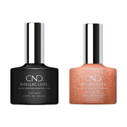 CND - Shellac Luxe - Top Coat & Chandelier 0.42 oz - #300.-Beyond Polish