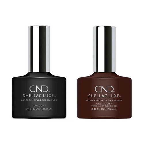 CND - Shellac Luxe - Top Coat & Dark Dahlia 0.42 oz - #159-Beyond Polish