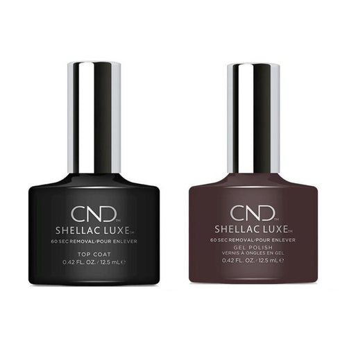 CND - Shellac Luxe - Top Coat & Fedora 0.42 oz - #114-Beyond Polish