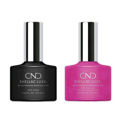 CND - Shellac Luxe - Top Coat & Magenta Mischief 0.42 oz - #209-Beyond Polish