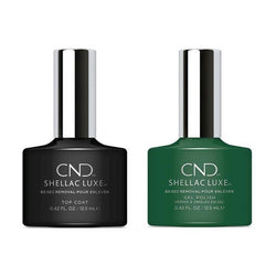 CND - Shellac Luxe - Top Coat & Palm Deco 0.42 oz - #246-Beyond Polish
