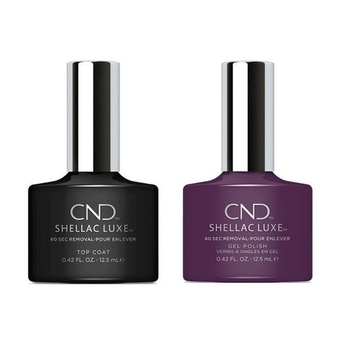 CND - Shellac Luxe - Top Coat & Rock Royalty 0.42 oz - #141-Beyond Polish