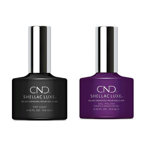 CND - Shellac Luxe - Top Coat & Temptation 0.42 oz - #305-Beyond Polish