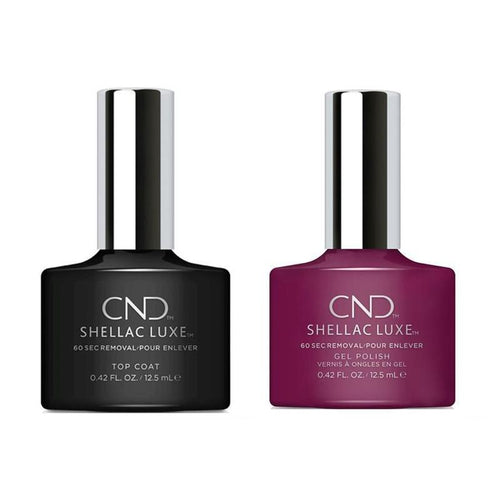 CND - Shellac Luxe - Top Coat & Vivant 0.42 oz - #294-Beyond Polish