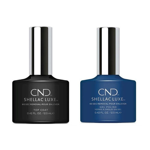 CND - Shellac Luxe - Top Coat & Winter Nights 0.42 oz - #257-Beyond Polish