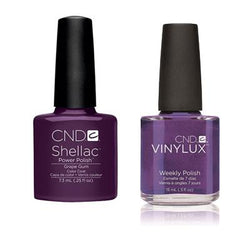 CND - Shellac & Vinylux Combo - Grape Gum-Beyond Polish