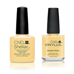CND - Shellac & Vinylux Combo - Honey Darlin-Beyond Polish
