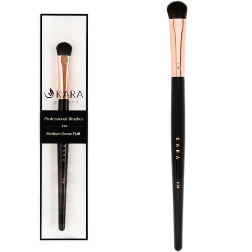 Kara Beauty - Professional Medium Dome Fluff Brush - K34-Beyond Polish