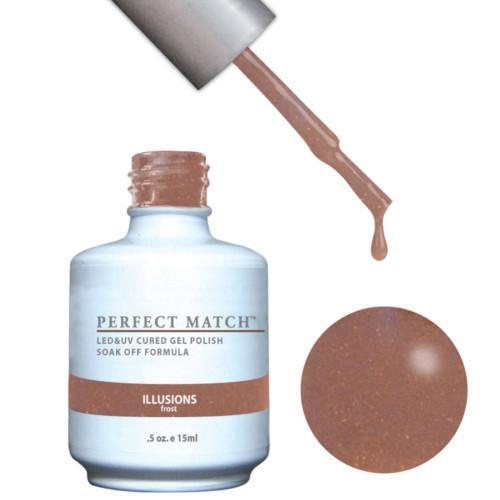 LeChat Perfect Match Gel / Lacquer Combo - Illusions 0.5 oz - #PMS107-Beyond Polish