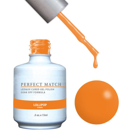 LeChat Perfect Match Gel / Lacquer Combo - Lollipop 0.5 oz - #PMS117-Beyond Polish
