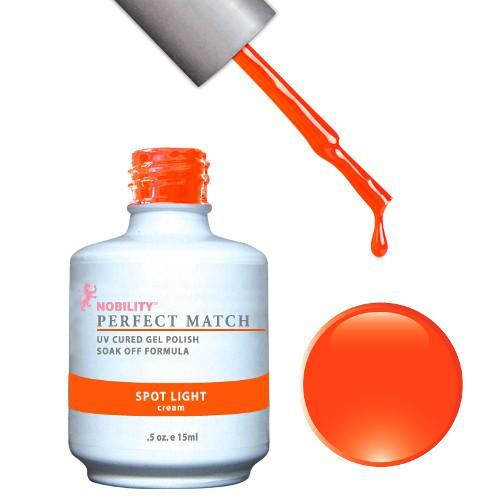 LeChat Perfect Match Gel / Lacquer Combo - Spot Light 0.5 oz - #PMS46-Beyond Polish