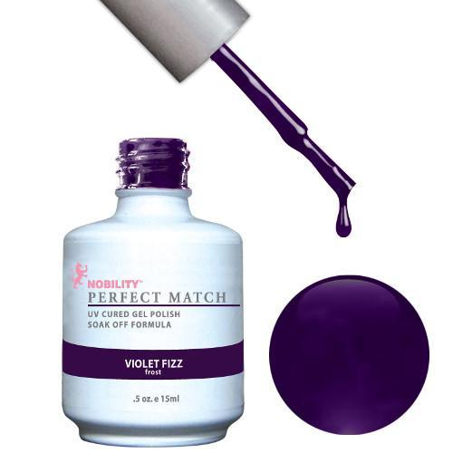 LeChat Perfect Match Gel / Lacquer Combo - Violet Fizz 0.5 oz - #PMS31-Beyond Polish