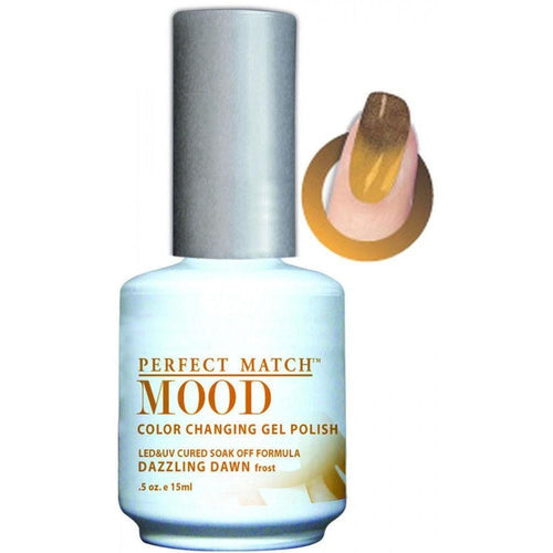 LeChat Perfect Match Mood Gel - Dazzling Dawn 0.5 oz - #MPMG15-Beyond Polish