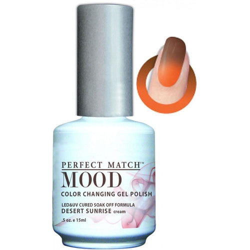 LeChat Perfect Match Mood Gel - Desert Sunrise 0.5 oz - #MPMG23-Beyond Polish