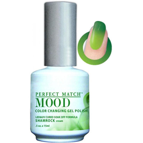 LeChat Perfect Match Mood Gel - Shamrock 0.5 oz - #MPMG22-Beyond Polish