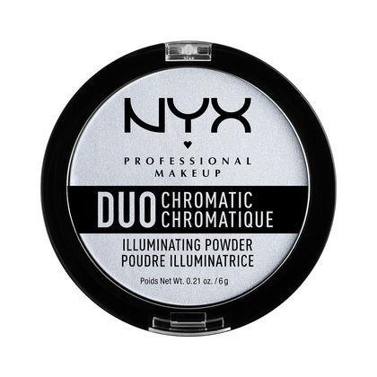 NYX Duo Chromatic Illuminating Powder - Twilight Tint - #DCI01-Beyond Polish