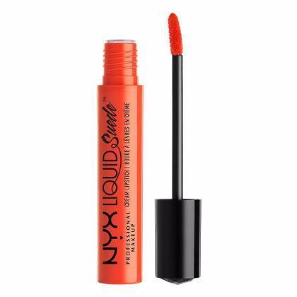 NYX Liquid Suede Cream Lipstick - Orange County - #LSCL05-Beyond Polish
