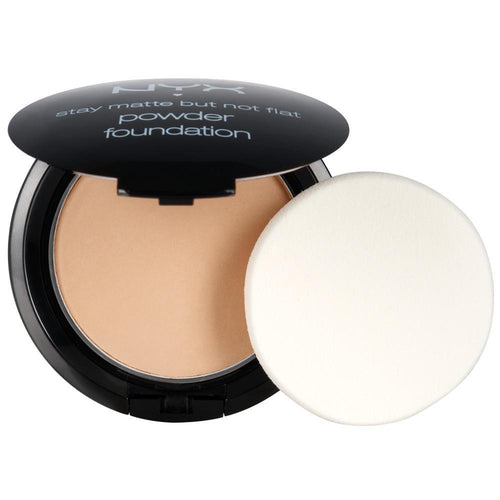 NYX Stay Matte But Not Flat Powder Foundation - Soft Beige - #SMP05-Beyond Polish