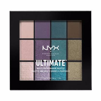 NYX Ultimate Multi-Finish Shadow Palette - Smoke Screen - #USP07-Beyond Polish