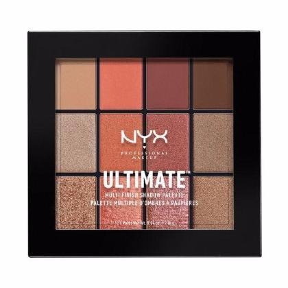 NYX Ultimate Multi-Finish Shadow Palette - Warm Rust - #USP08-Beyond Polish