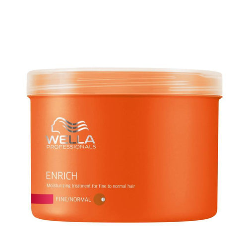 Wella - Enrich Moisturizing Treatment for Fine to Normal Hair 16.9 oz-Beyond Polish