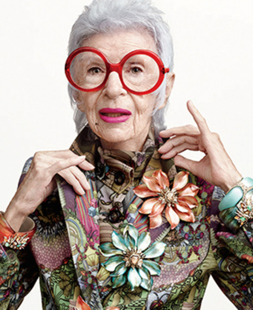 Latest Bathroom Reading - Rare Bird of Fashion: The Irreverent Iris Apfel and How She Inspires Me